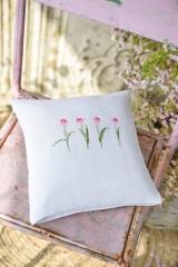 Kissenhülle -Tulpenreihe-