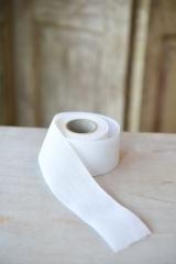 Leinenband, reinweiß, Breite: 5 cm