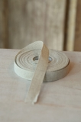 Leinenband, ungebleicht, 2 cm breit