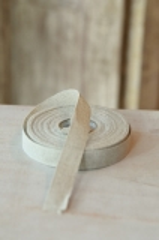 Leinenband, ungebleicht, 2,5 cm breit
