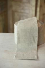 Leinenband, ungebleicht, 8 cm breit