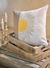 Kissen -Sonnenblume-