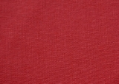 Leinengewebe, rot