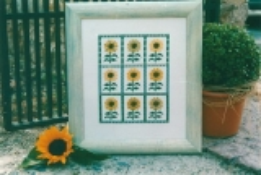 Stickpackung Sonnenblumen
