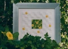 Stickpackung Gelbe Blüten